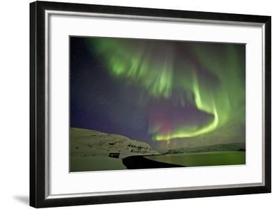 Norway, Northern Lights, Aurora Borealis-Bernd Rommelt-Framed Photographic Print
