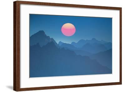 Austria, Lechtal Alps (M)-Ludwig Mallaun-Framed Photographic Print