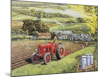 Master at Work-Trevor Mitchell-Mounted Giclee Print
