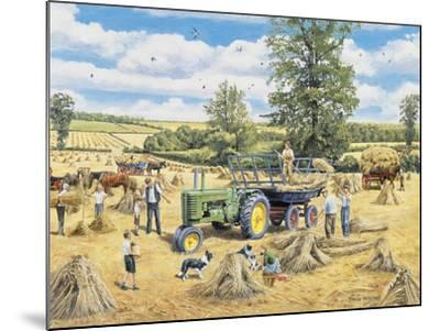 A Family Harvest-Trevor Mitchell-Mounted Giclee Print