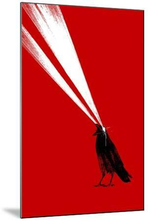 Laser Crow-Robert Farkas-Mounted Giclee Print