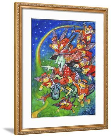 Look to the Rainbow-Bill Bell-Framed Giclee Print