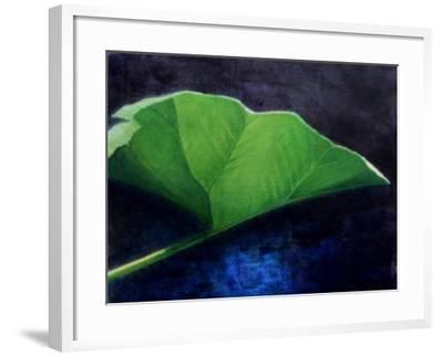 Gunnera Leaf-Lincoln Seligman-Framed Giclee Print