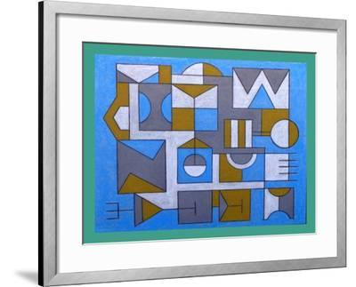 IMPOSSIBLE BUILDING. 2017-Peter McClure-Framed Giclee Print