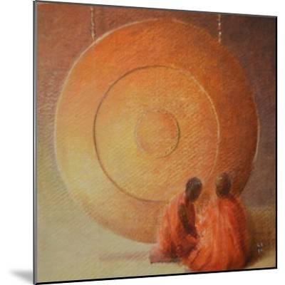 Monk, Gong and Pupil-Lincoln Seligman-Mounted Giclee Print