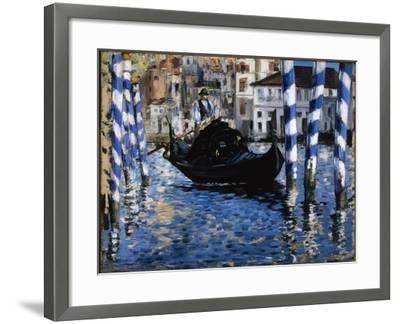 The Grand Canal, Venice, 1875-Edouard Manet-Framed Giclee Print