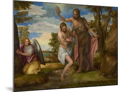 The Baptism of Christ, c.1550-1560-Veronese-Mounted Giclee Print