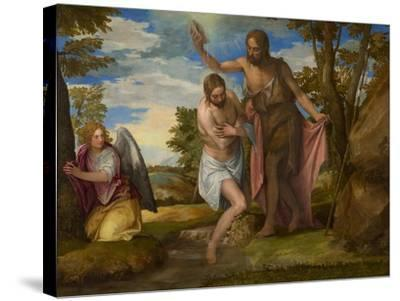 The Baptism of Christ, c.1550-1560-Veronese-Stretched Canvas Print