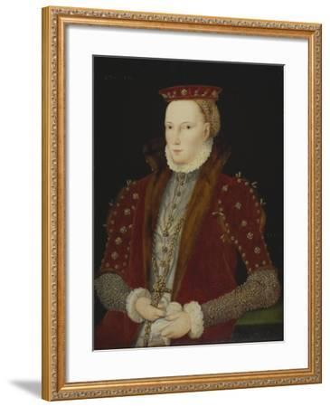 Portrait of a Lady, thought to be Queen Elizabeth I, 1563-Unknown Artist-Framed Giclee Print