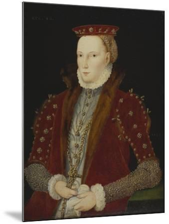 Portrait of a Lady, thought to be Queen Elizabeth I, 1563-Unknown Artist-Mounted Giclee Print