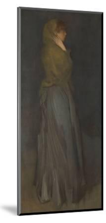 'Arrangement in Yellow and Gray': Effie Deans, c.1876-78-James Abbott McNeill Whistler-Mounted Giclee Print
