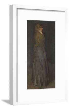 'Arrangement in Yellow and Gray': Effie Deans, c.1876-78-James Abbott McNeill Whistler-Framed Giclee Print