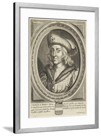 Portrait of Otto, Duke of Brabant and Leuven, 1662-Conrad Waumans-Framed Giclee Print