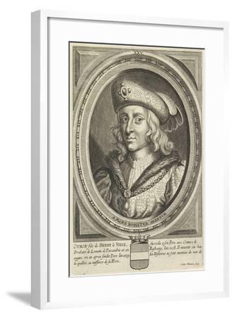 Portrait of Otto, Duke of Brabant and Leuven, 1662-Conrad Waumans-Framed Giclee Print