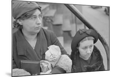 Bystanders in Bethlehem, Pennsylvania, 1936-Walker Evans-Mounted Photographic Print