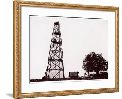 Butler's Lookout Tower, Opposite Dutch Gap, 1865-Andrew Joseph Russell-Framed Photographic Print
