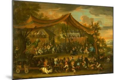 A Trial at Law Among Animals and Pygmies, Unknown-Faustino Bocchi or Boccasi-Mounted Giclee Print