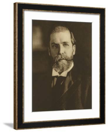 Presidential campaign poster for Charles E. Hughes, 1916-Harris & Ewing-Framed Photographic Print