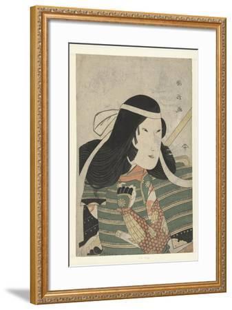 Iwai Kumesaburo as Tomoe Gozen, 1797-Utagawa Kunimasa-Framed Giclee Print
