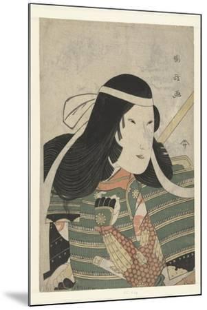 Iwai Kumesaburo as Tomoe Gozen, 1797-Utagawa Kunimasa-Mounted Giclee Print