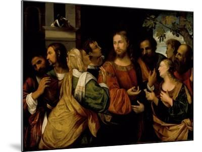 Christ and the Women of Canaan, c.1520-Rocco Marconi-Mounted Giclee Print