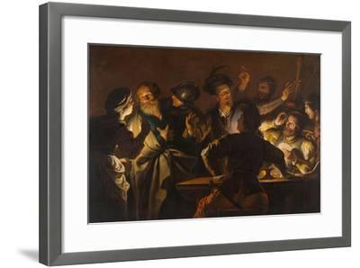 The Denial of St. Peter, c.1620-1625-Gerard Seghers-Framed Giclee Print