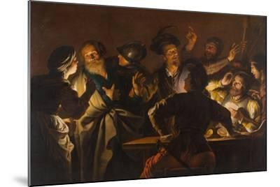 The Denial of St. Peter, c.1620-1625-Gerard Seghers-Mounted Giclee Print