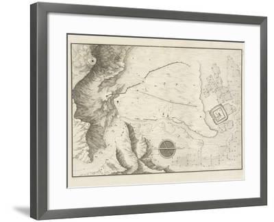 A Geometrical Plan of the Ruined City of Palmyra, 1753-Giovanni Battista Borra-Framed Photographic Print
