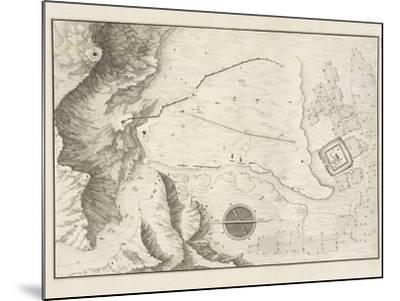 A Geometrical Plan of the Ruined City of Palmyra, 1753-Giovanni Battista Borra-Mounted Photographic Print