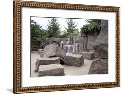 Franklin Delano Roosevelt Memorial, Washington, D.C.,--Framed Photographic Print