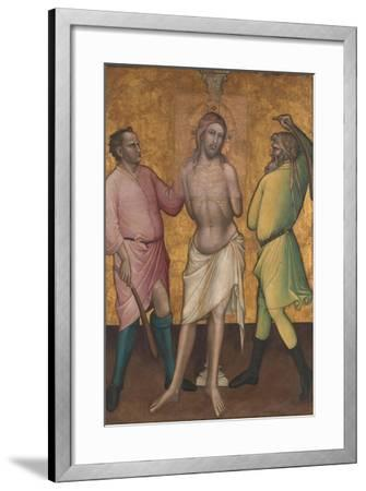 The Flagellation, c.1395-1400-Aretino Luca Spinello or Spinelli-Framed Giclee Print