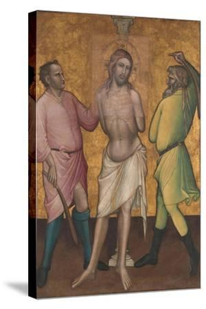 The Flagellation, c.1395-1400-Aretino Luca Spinello or Spinelli-Stretched Canvas Print