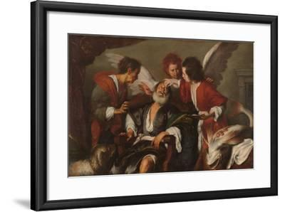Tobias Curing His Father's Blindness, 1630-35-Bernardo Strozzi-Framed Giclee Print