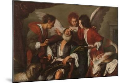 Tobias Curing His Father's Blindness, 1630-35-Bernardo Strozzi-Mounted Giclee Print