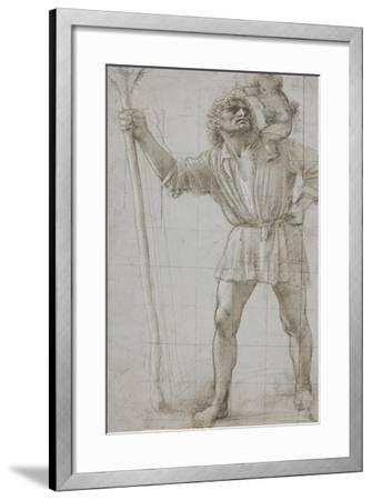 St. Christopher with the Infant Jesus, c. 1490-Donato Bramante-Framed Giclee Print
