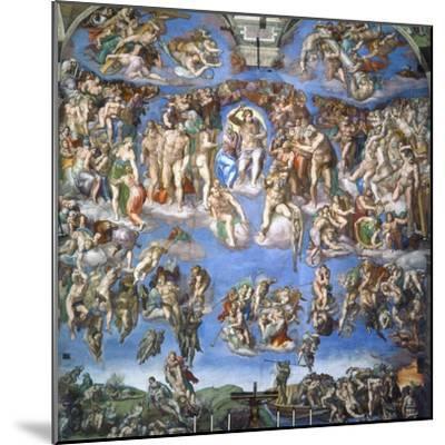 The Last Judgment, c.1540-Michelangelo Buonarroti-Mounted Giclee Print