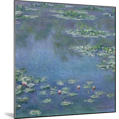 Water Lilies, 1906-Claude Monet-Mounted Giclee Print