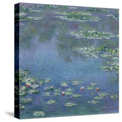 Water Lilies, 1906-Claude Monet-Stretched Canvas Print