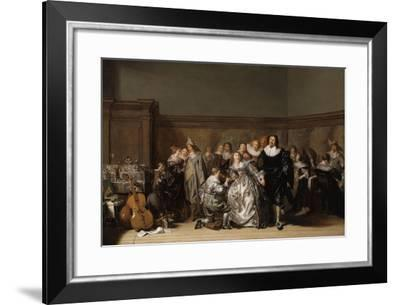 An Elegant Company, 1632-Pieter Codde-Framed Giclee Print