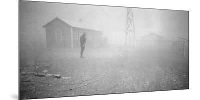 Dust storm New Mexico, 1935-Dorothea Lange-Mounted Photographic Print