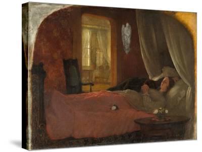 The Last Sleep, c.1858-George Cochran Lambdin-Stretched Canvas Print