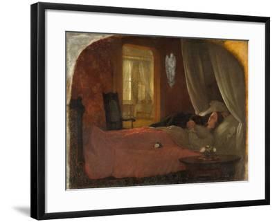 The Last Sleep, c.1858-George Cochran Lambdin-Framed Giclee Print