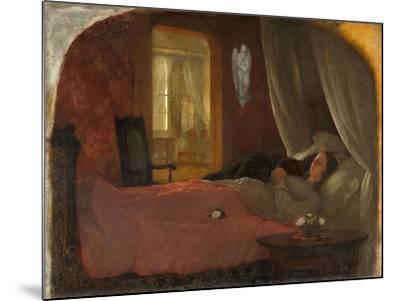 The Last Sleep, c.1858-George Cochran Lambdin-Mounted Giclee Print