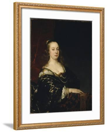 Portrait of a Woman, c.1647-Jacob Adriensz Backer-Framed Giclee Print