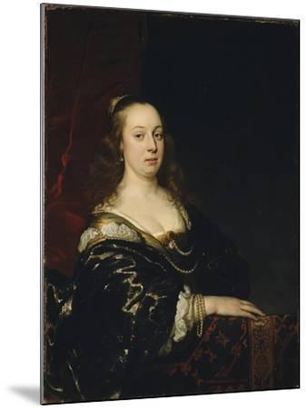 Portrait of a Woman, c.1647-Jacob Adriensz Backer-Mounted Giclee Print