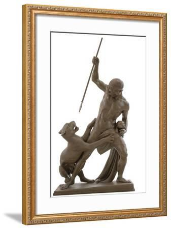 The Panther Hunter, 1846-Jens Adolf Jerichau-Framed Giclee Print