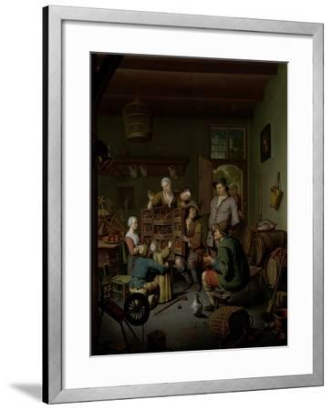 The Raree-show , 1718-Willem Van Mieris-Framed Giclee Print