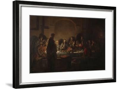 The Last Supper, 1664-Gerbrandt Van Den Eeckhout-Framed Giclee Print