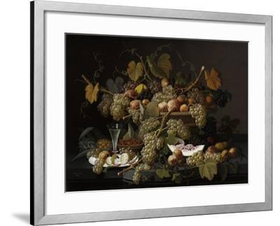 Ecstatic Fruit, 1852-Severin Roesen-Framed Giclee Print