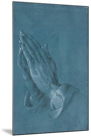 Praying Hands, 1508-Albrecht D?rer or Duerer-Mounted Giclee Print